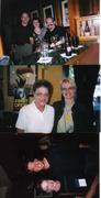 Dennis Lehane, Jen, Jon....Joan & Zoe...Barry Eisler & Joan