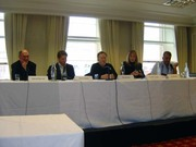 ITW Panel - In from the Cold with David Morrell_Barry Eisler_Pat Mullan_Gayle Lynds and Ali Karim