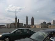 Cleveland skyline 4-3-07
