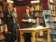 Chapters manager Rachel introduces Cheryl Kaye Tardif