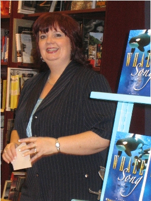 Cheryl Kaye Tardif gets a blue wheely