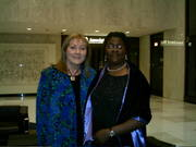 Annie Chernow and Ayo B'Con 2005