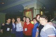 Simon, Em, Maddy, Judith, Kerri, Kim, Donna, Jan