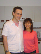 Mike & Queenie-27thOct2006-Marjorie's