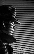 detective shadow window