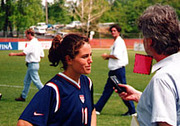 Julie Foudy Post-Game