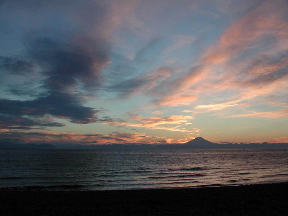 Sunset from Deep Creek