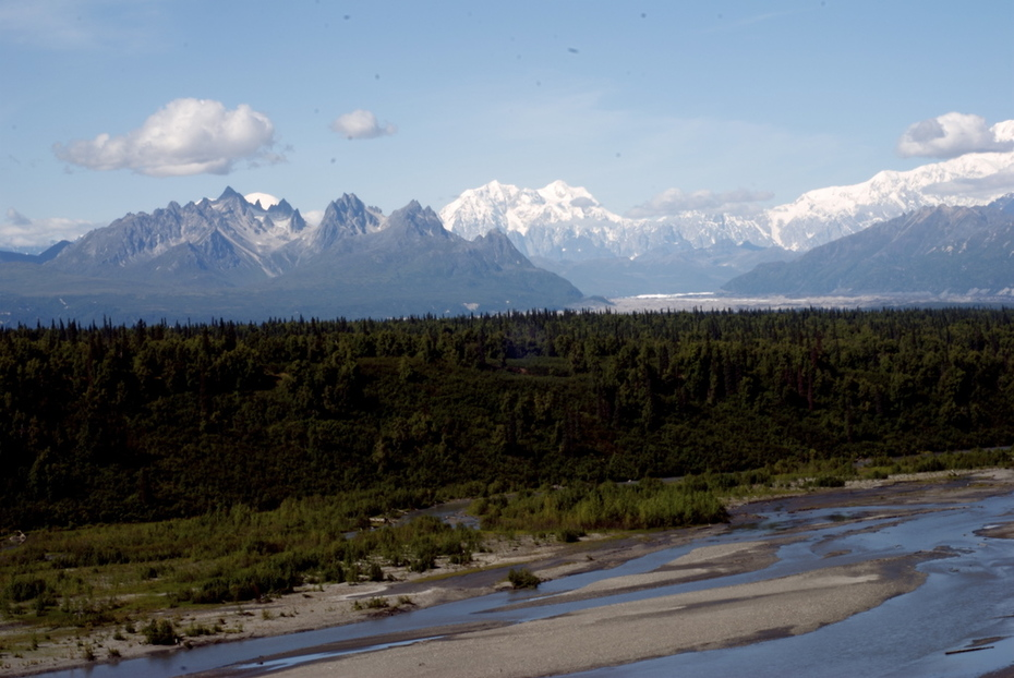 Another view-Alaska Range
