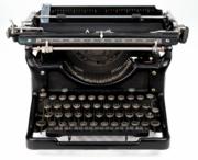 back to the typewriter...