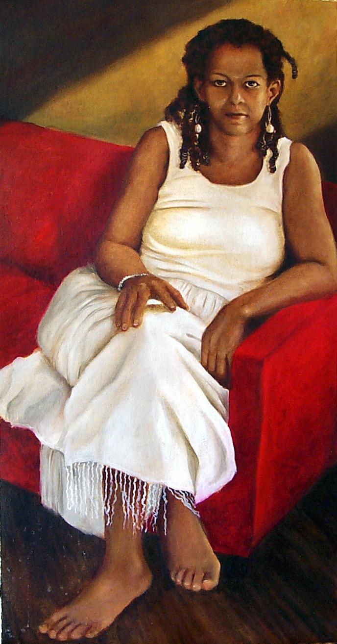 Portrait of Pamea