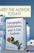 """Autographs"" book cover"