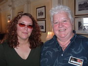 With Val McDermid