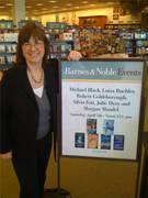 B & N Book Signing Official Sign