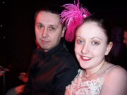 Amanda and myself at a Burlesque evening in Birmingham
