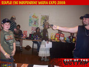Out of the Gutter promotes violence at Staple Media Expo