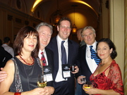 Jean & Pat Mullan, Jason Pinter, Maurice & Alex O'Scanaill