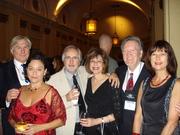 Maurice & Alex, Raymond & Randi Benson, Pat & Jean
