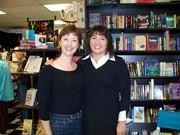 Annette Dashofy with Alafair Burke