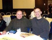 With Harlan Coben at Crimebake 2008