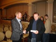 R J Ellory and Dennis Lehane