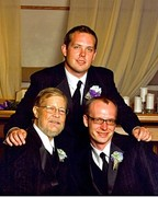 Me, with my boys, Christopher D. Hanna (1984) & Joshua L. Lytle (1978)