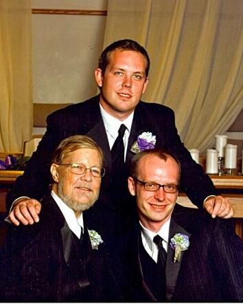 Me, with my boys, Christopher D. Hanna (1984) & Joshua L. Lytle (1978)