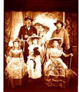 King family, Western