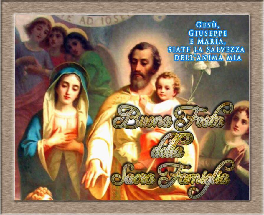 Festa della Santa Famiglia