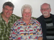With Martyn Waites and Val McDermid