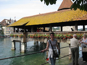 Mitzi @ Chapel Bridge, Luzern