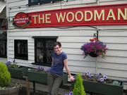 Mitzi @ a favourite country pub