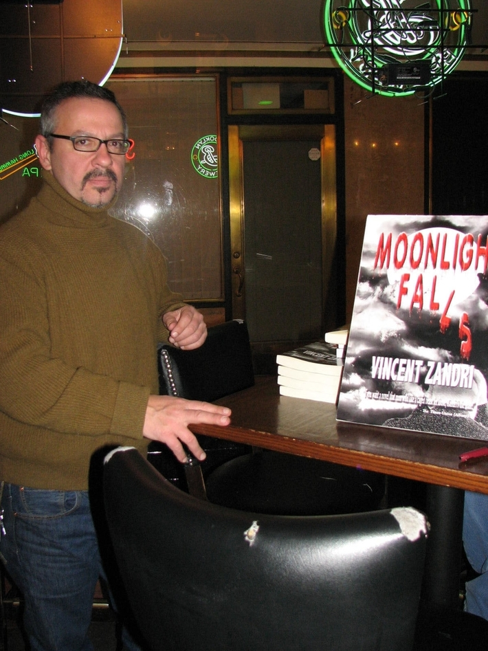 Special Pre-pub First Moonlight Falls signing