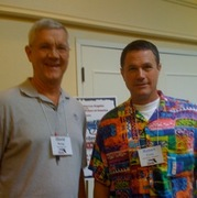 With Robert Crais 6/2009