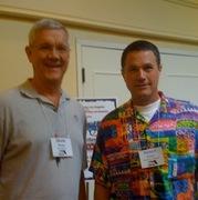 With Robert Crais 6/2009