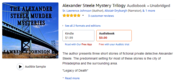 AmazonSmile  Alexander Steele Mystery Trilogy  Audible Audio Edition   Sr. Lawrence Johnson  Alistair Dryburgh  Lawrence Johnson Sr.  Books