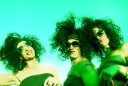 big hair trio