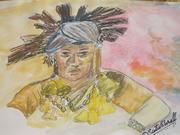 A jhakri (shaman)
