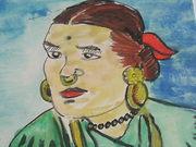 A Gurung lady