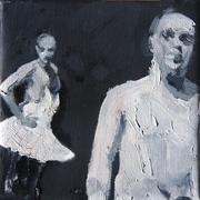 2007, b&f, 18x18cm oil on canvas