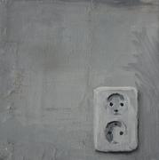 2006, Socket #1, 30x30 oil on canvas