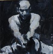 2007, my dance, 18x18cm oil on canvas