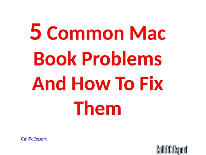5 Common Mac Book Problems And How To