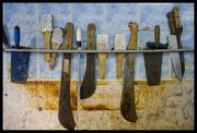 utensilios del pescadero