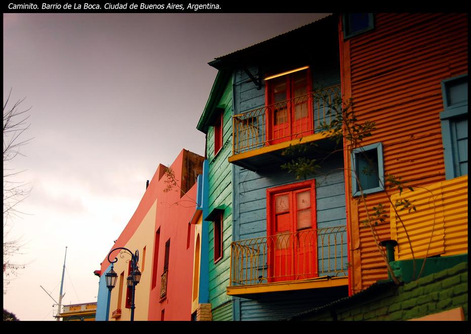 Caminito - Buenos Aires, Argentina.