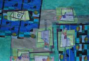Composition XXII-07 50x70cm