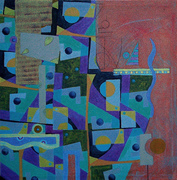 CompositionXVI-07 70x70cm