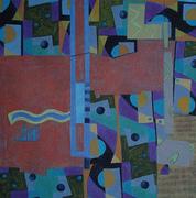 CompositionXVII-07 70x70cm