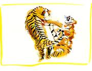 Tiger Fight I