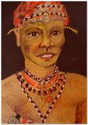Moderner Massai