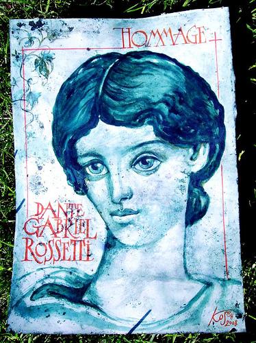 Hommage á Dante Gabriel Rosetti